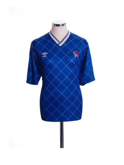 1987-1989 Chelsea FC Home Football Shirt