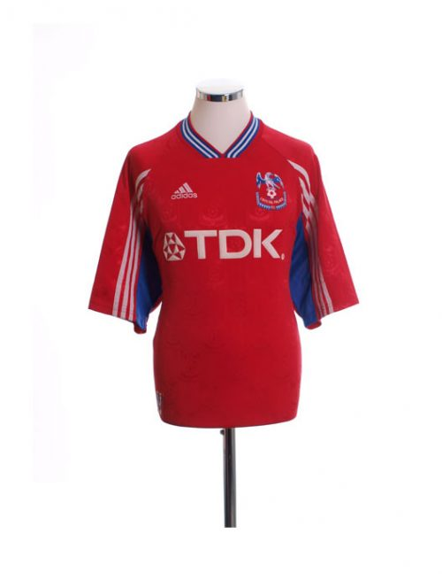 1998-1999 Crystal Palace Home Football Shirt TDK