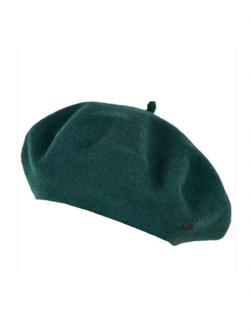 Parisian Chic Green Beret