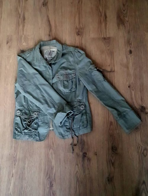 Khaki Green Vintage Jacket