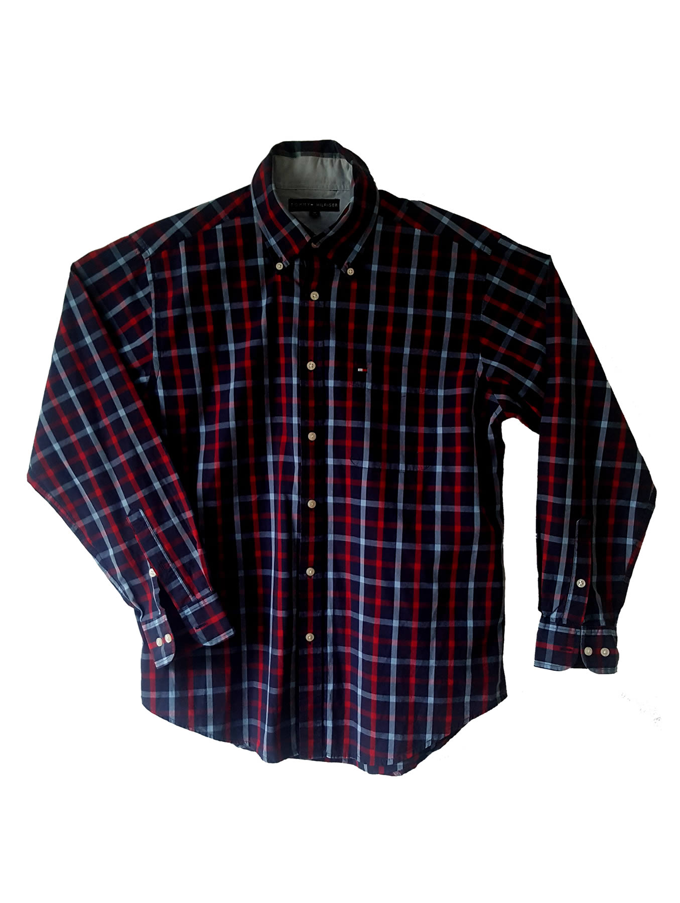 Tommy Hilfiger Chequered Long-Sleeve Shirt