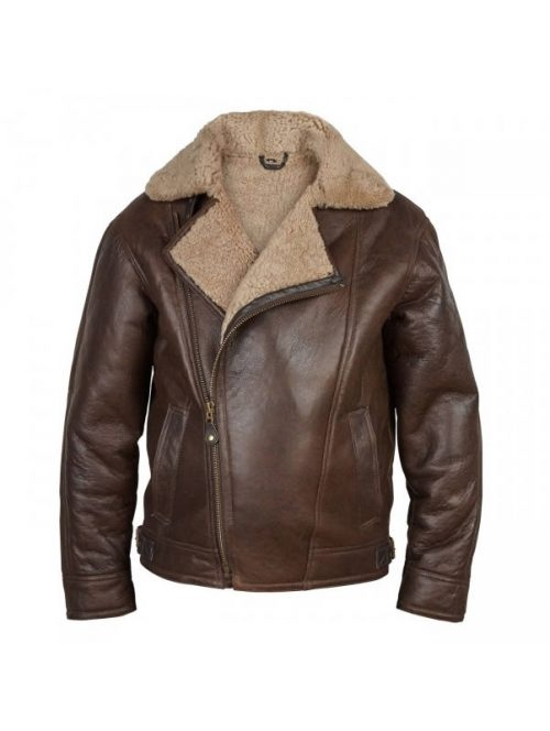 shearlings leather pilot jacket